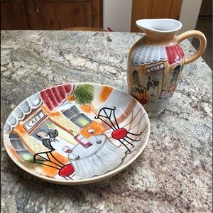 Other - Vase and Plate set
